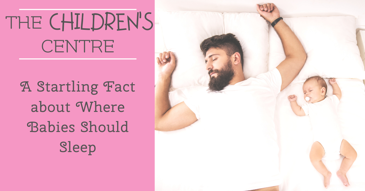 A Startling Fact about Where Babies Should Sleep
