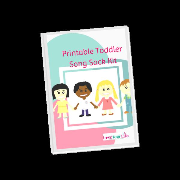 Printable Toddler Song Sack Kit